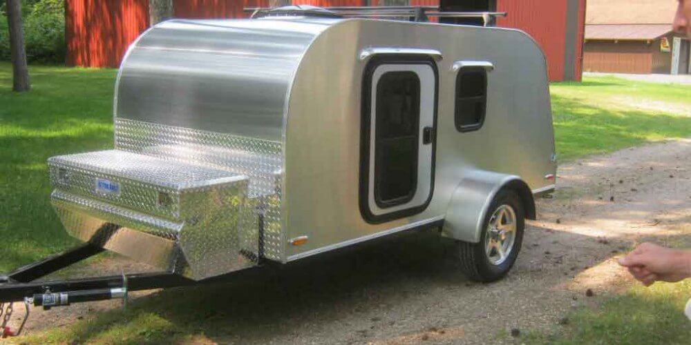 Beautiful new 5x10 teardrop camper