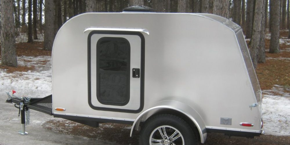 5x8 Teardrop Camper Trailers | RetroRide Teardrops